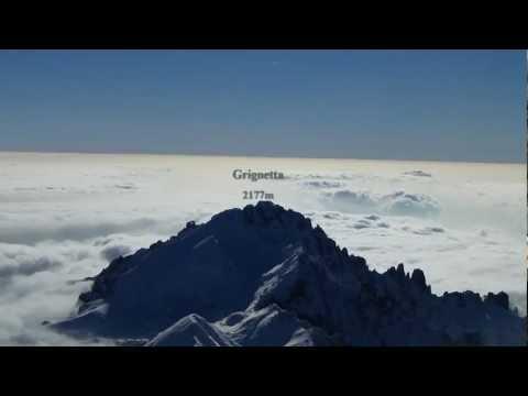 """GRIGNONE 2409m – GRIGNA Sett. SKIALP """"La montagna dei sogni"""""""