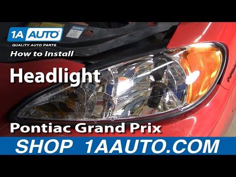 How To Install Replace Headlight Pontiac Grand Am 99-06 - 1AAuto.com