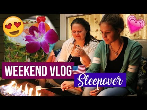 WEEKEND VLOG/ SLEEPOVER// AUSLANDSJAHR USA 17/18