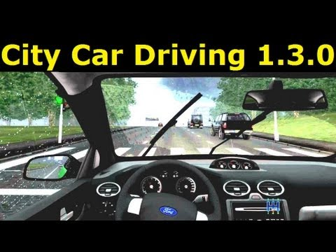 City Car Driving v1.3.0 - Directx 11, left-hand traffic, English version and more.. Free download