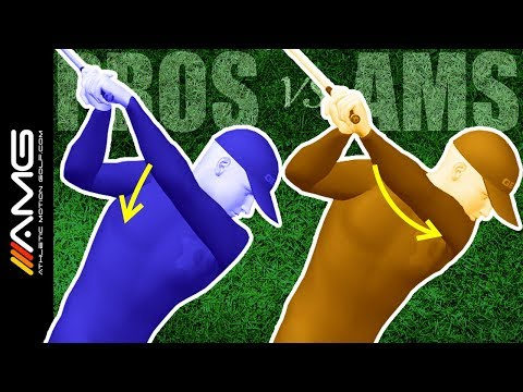 Right Shoulder Movement In The Golf Swing: Pros vs Ams