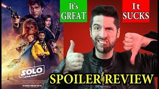 Solo: A Star Wars Story - The Perfect SPOILER Review For Everybody!
