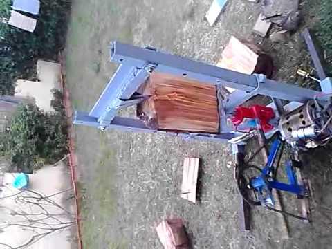 Spaccalegna artigianale arrori motore lavatrice pi for Sifone elettrico per acquario fai da te
