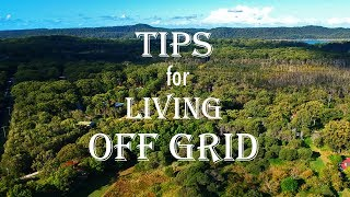 Preparing to live off grid