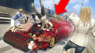 I made a death machine... | GTA 5 THUG LIFE #296