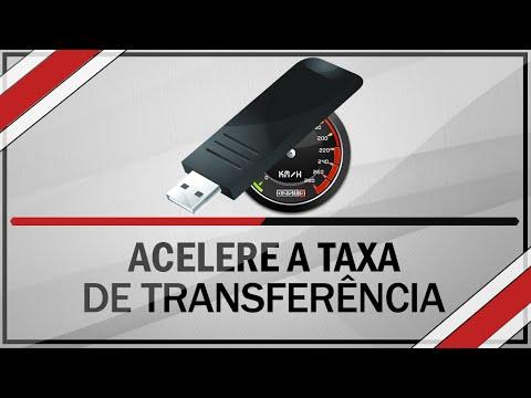 Como acelerar taxa de Transferência de arquivos do Pendrive