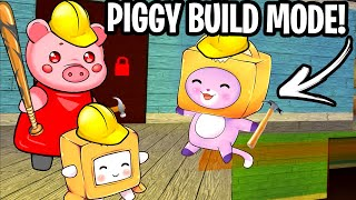 Foxy & Boxy Try BUILD MODE With PIGGY! (LankyBox Animation)