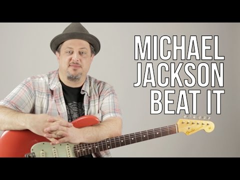 Michael Jackson - Beat It Guitar Lesson - How To Play On Guitar - Riff And Chords