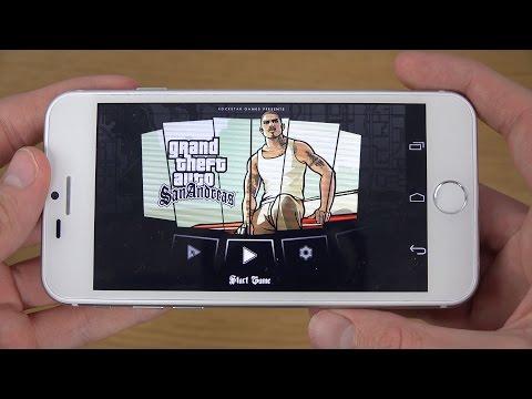 GTA San Andreas Goophone I6 4K Gameplay Review