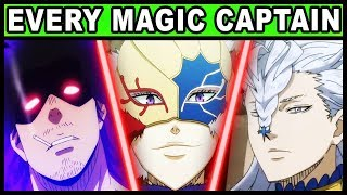 All 9 Magic Knight Captains and Their Powers Explained! (Black Clover Every Captain / Squad)