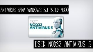 Antivirus para windows 8.1  Pro RTM Build 9600