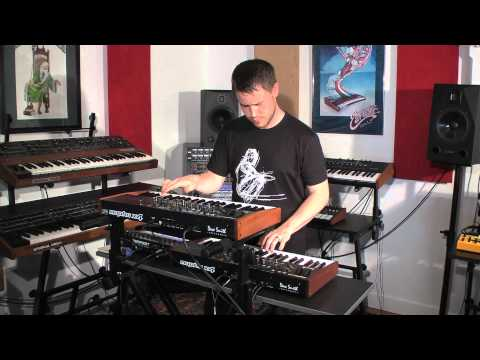 DSI Mopho x4 Demo with Peter Dyer