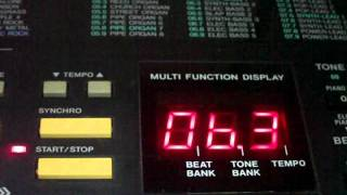 CASIO MT-750 TONE BANK KEYBOARD Demo Song