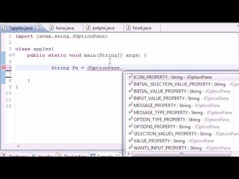 Java Programming Tutorial - 50 - Graphical User Interface