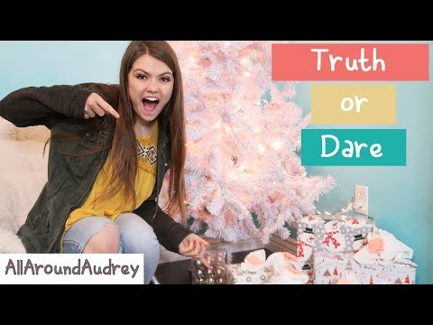 TRUTH OR DARE While Decorating My Christmas Tree / AllAroundAudrey