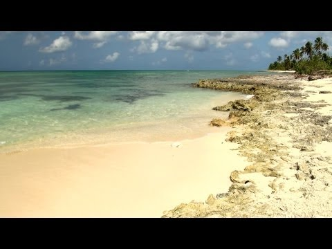 Ocean waves - Meditation on the beach - relaxation video