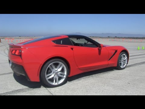 Testing the 2014 Chevy Corvette Stingray Z51 0-60 MPH 'til they take the keys away