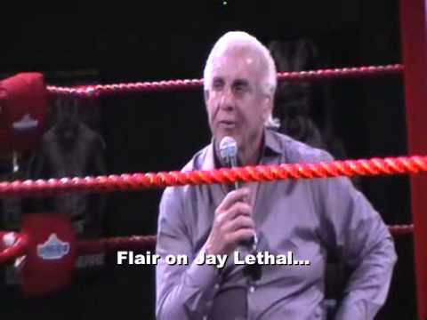 PART 2: RIC FLAIR SHOOTS ON VINCE MCMAHON, TRIPLE H, HULK HOGAN, STEVE AUSTIN, WCW, TNA, JAY LETHAL!