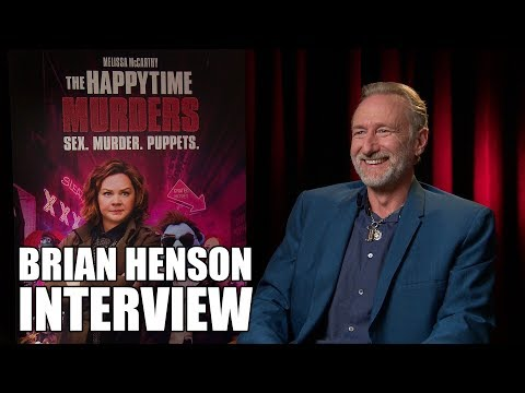 THE HAPPYTIME MURDERS: Brian Henson Interview