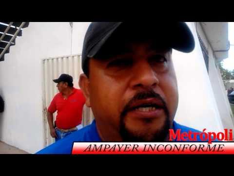 AMPAYER INCONFORME POR LAS MALAS DESICIONES DE RENAN MARTINEZ