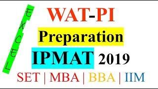 WAT-PI preparation | Important Interview Questions | Latest Topics for WAT | IPMAT | CAT/MBA | IIMs