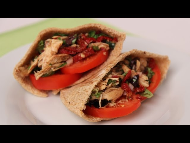 Chicken Pita Sandwich - Laura Vitale - Laura in the Kitchen Episode 446