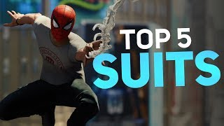 Spider-Man PS4 - Top 5 Suits