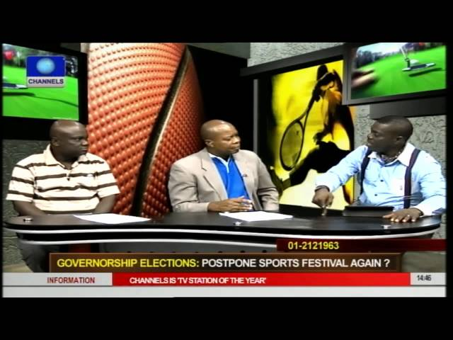 Should Sports Festival Be Postponed Again Due To Guber Polls pt 2