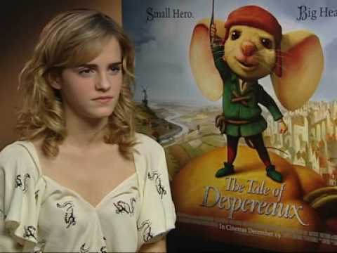 Harry potter star Emma Watson answers our quick fire top ten Video
