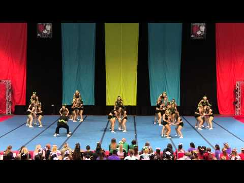 University of Regina Cheerleading - PCA UONCC 2014 - Run 2 - Small Coed