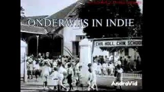 (Arsip Lama) Sekolah Jaman Hindia Belanda 1928 (Masa Indonesia Sebelum Merdeka)