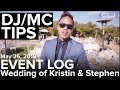 Event Log 83 Gerry Ranch Wedding DJ MC Tips With Live Examples DJ Review mp3
