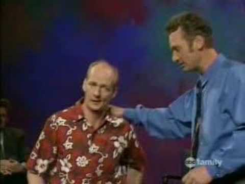 Whose line - Frankenstein