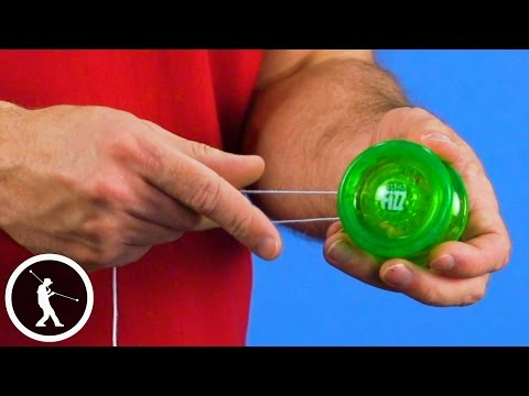 How to Put a String on a Yoyo and Adjust it for Play