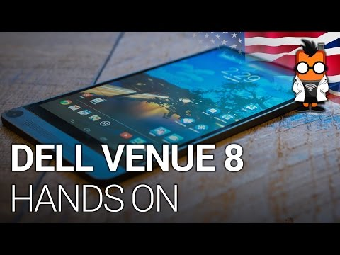 Dell Venue 8 7000 Hands On - 6mm 2K Tablet with Depth Camera