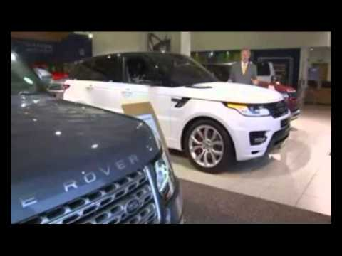 Jaguar Land Rover posts record car sales figures