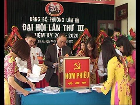 Đại hội Đảng bộ phường Lãm Hà lần thứ III, nhiệm kỳ 2015-2020