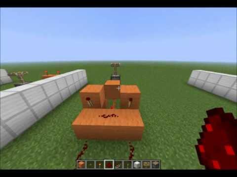 Minecraft - Redstone - Todas Las Puertas Logicas