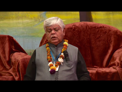 Dinkar Mehta At Dashabdi Rajat Jayanti Mahotsav 2013 video