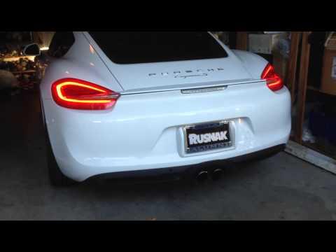 2014 Cayman S Porsche Sports Exhaust (PSE) Sound
