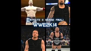 WWE 2K14 : Roman Reigns, The Rock, Ryback and Dean Ambrose entrate e mosse finali