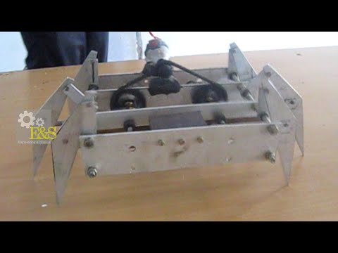 Mechanical spider - mechanical engineering project