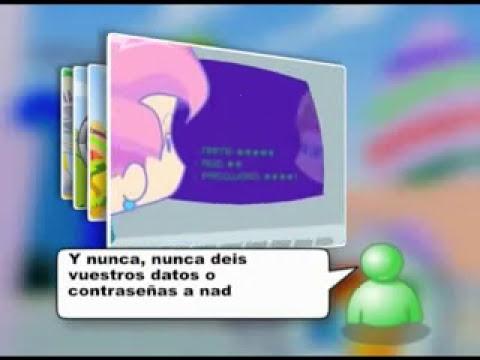 Dibujos animados educativos sobre los Peligros de Internet (Tpvamedida)