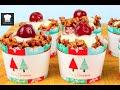 Christmas Crackle Cupcakes - No Bake