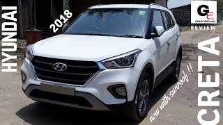 2018 Hyundai Creta SX Automatic with sunroof | launched | detailed review | features !!