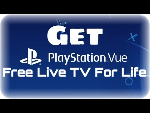 How to Get Free Cable (All Channels)  2018 Get Playstation Vue For Free For Life Simple Hack
