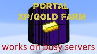 1.12 Portal XP/Gold Farm (80,000 xp/h)