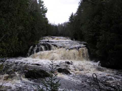 Copper Falls State Park, WI, October 15,16, 2011