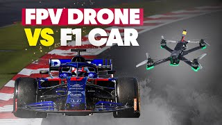 Can An FPV Drone Keep Up With A Formula 1 Car?