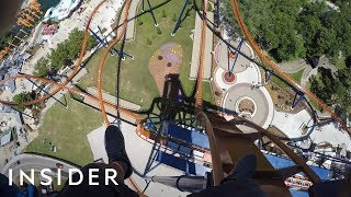 What The Tallest Dive Coaster In The US Is Like